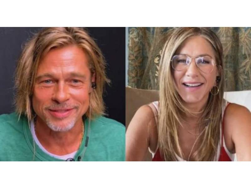 Jennifer Aniston y Brad Pitt